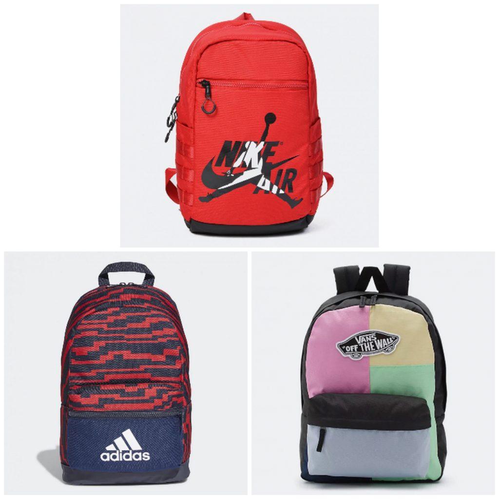 σχολική τσάντα adidas, nike , vans