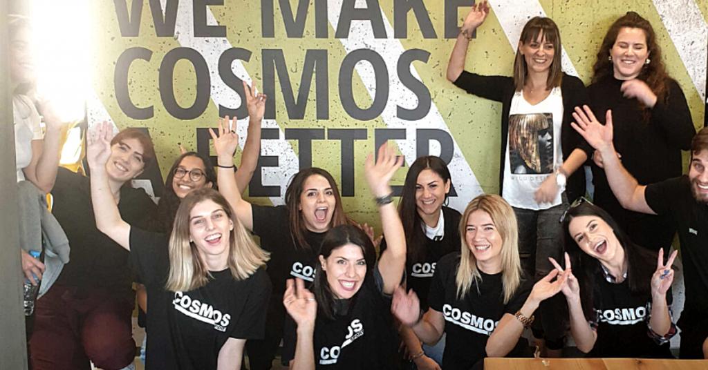 Οι COSMOS WOMEN καταλύτες στην Εταιρική Εξέλιξη & Δημιουργικότητα